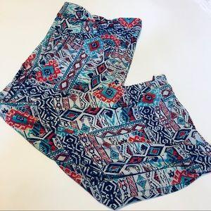 RUE21 Strapless Maxi Dress Aztec Design